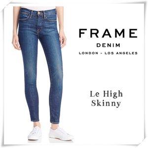 Frame Denim Le High Skinny Jeans High Rise